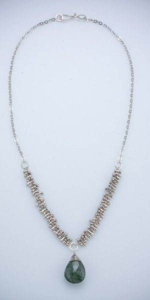 August Nine Peg Necklace