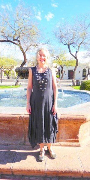 lined dress atlantic