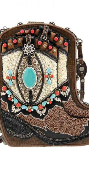 Mary Frances Two Step Handbag